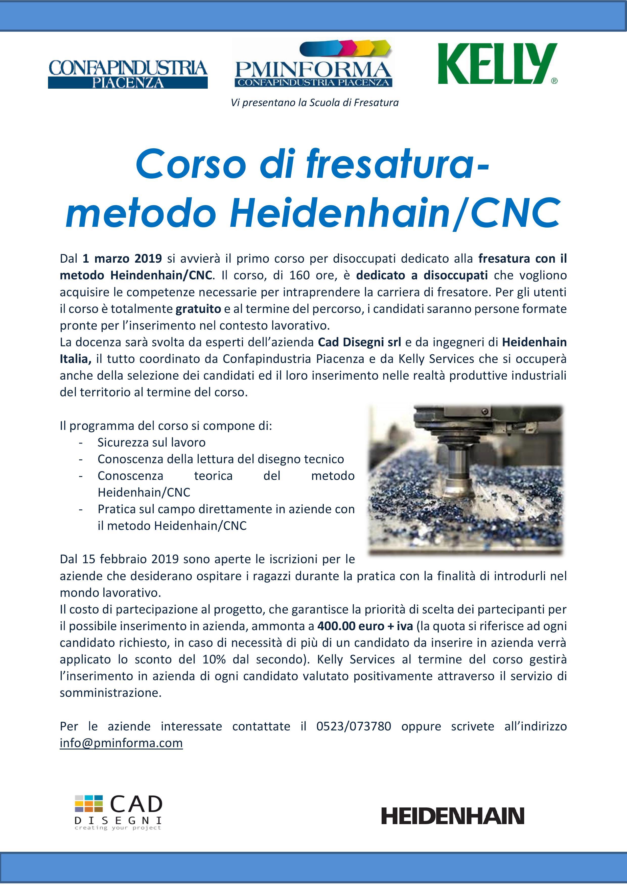 Confapindustria Piacenza: Formati 11 Nuovi Fresatori