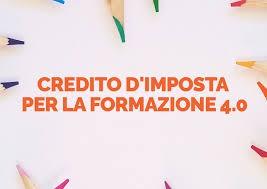 CREDITO D'IMPOSTA PER LA FORMAZIONE 4.0